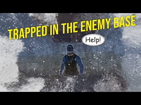 Rust - Trapped Inside Toxic Clan's Base! Surrounded! Online Raid thumbnail