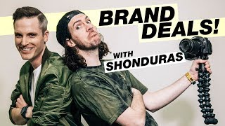 how to get companies to sponsor you on youtube — shonduras interview