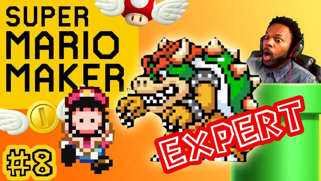 Stampy And Sqaishey Mario Maker : Super Mario Maker - Stampy Mario Maker Stage! [EXPERT MODE][Unlimited Fails, & Funny Moments ...