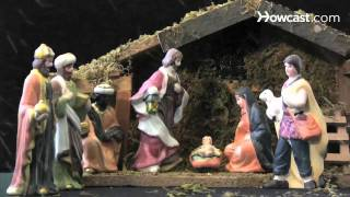 How To Arrange A Nativity Scene