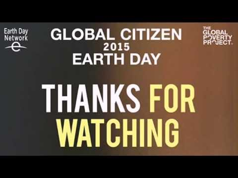 Global Citizen 2015 Earth Day post show with Matt Santoro and Yousef Erakat