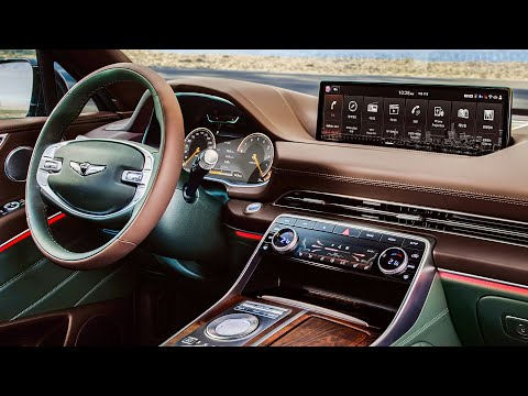 Genesis Gv80 Design Performance Infotainment Convenience Youtube
