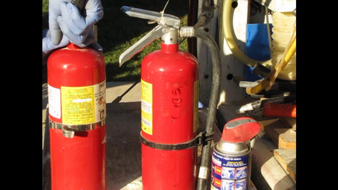 Fire Extinguisher Recharge YouTube