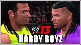 WWE 13 - CAW Spotlight: Hardy Boyz By