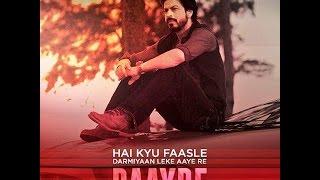 Cover images Daayre - Shah Rukh Khan | Kajol | Arijit Singh | Dilwale | New Song Audio 2015