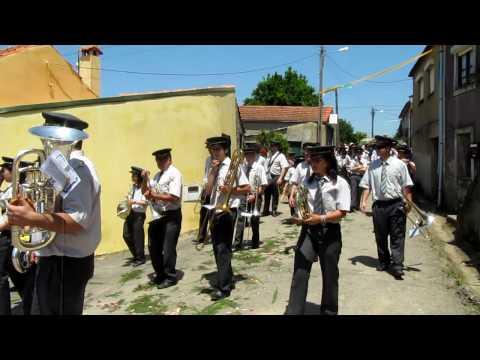 Banda Castanheirense, Procissão Esp. Santo, Castanheira do Vouga, 2010