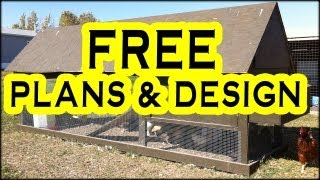 Part 1 - Building A Chicken Tractor Rabbit Hutch Coop Harriet House Style