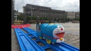 Trem de Brinquedo Tomy Doraemon at Archéoforum, Liège, Belgium 01816 pt