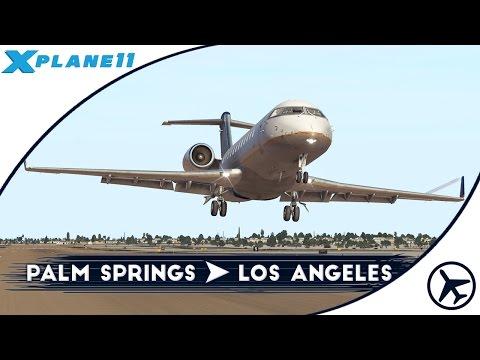 Volvemos a LA! | PSP - LAX | CRJ-200 [JRollon] | XPlane 11