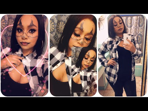 Gangster clown makeup | Halloween makeup | tutorial for beginners thumbnail
