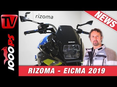 Rizoma Parts - Zubehör deluxe für BMW, Vespa & Co. - Vauli führt durch die Neuheiten 2020