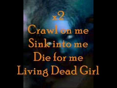 Lyrics for living dead girl