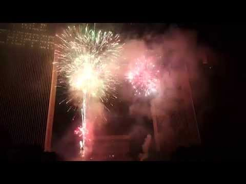 July 4 Fireworks at Empire State Plaza! 2015 1080