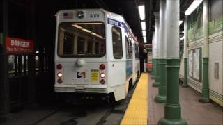 Market-Frankford and Trolley Action @ 19th Street Station