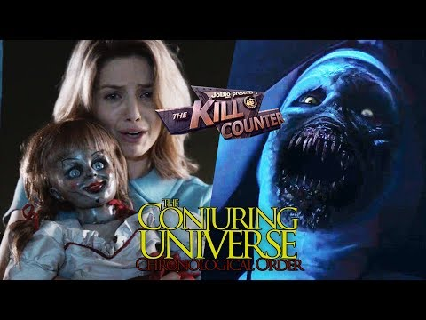 THE CONJURING UNIVERSE - The Kill Counter, James Wan Horror Franchise