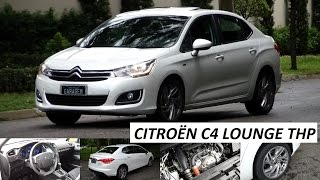 Garagem do Bellote TV: Citroën C4 Lounge THP