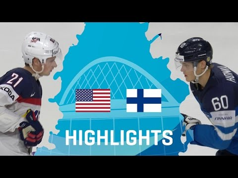USA - Finland | Highlights | #IIHFWorlds 2017