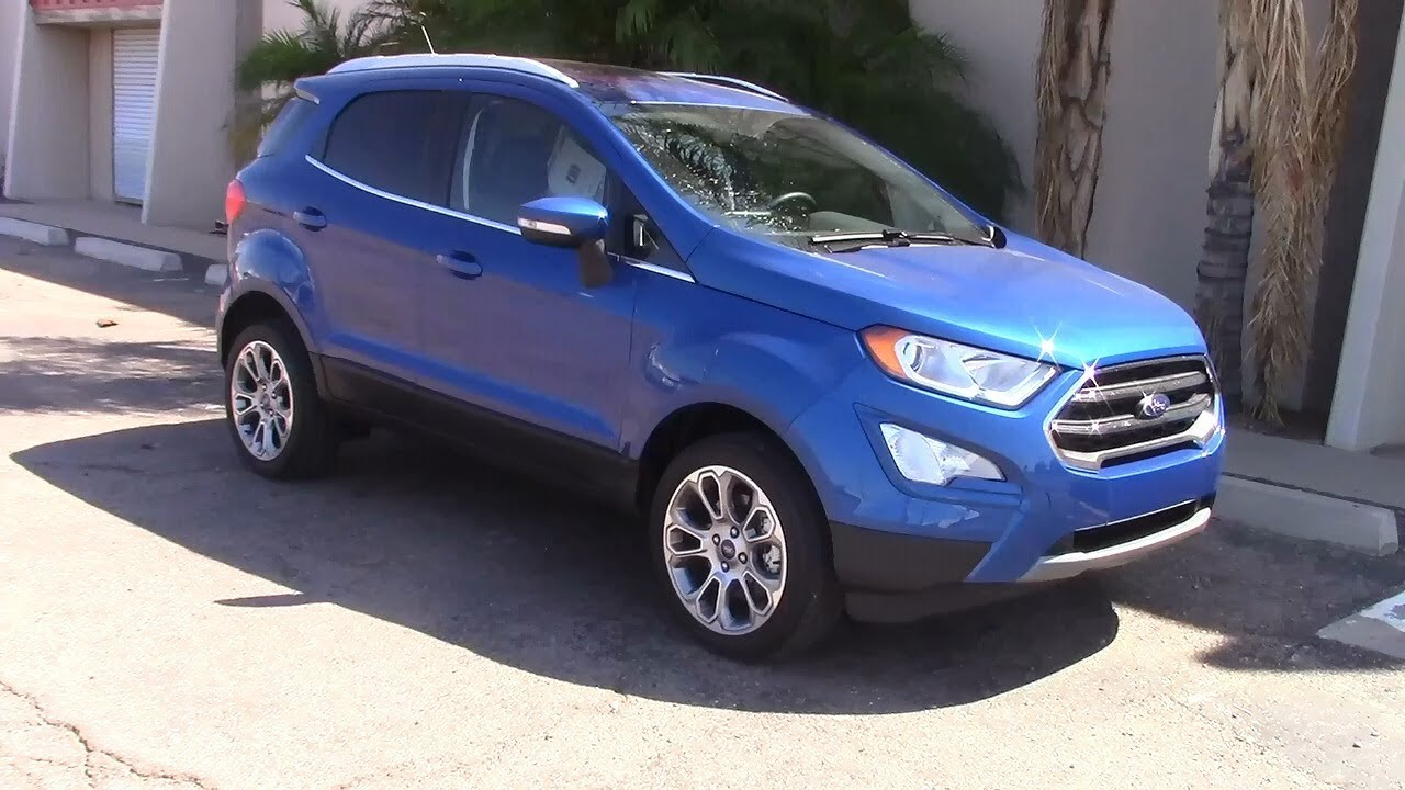 2018 ford ecosport suv performance fuel economy test