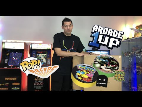Unboxing & Building of TMNT & Pac-Man Arcade 1UP Stools! 🇦🇺 from The POP! Arcade