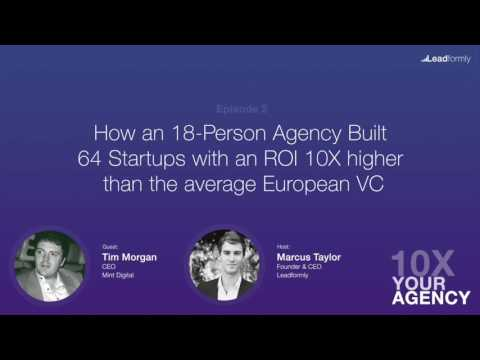 How an 18 Person Agency Built 64 Startups With an ROI 10X Higher Than the Average European VC