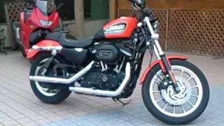 HARLEY-DAVIDSON 883R  ハーレー動画♪  Racer Motorcycle