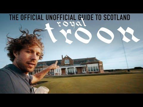Royal Troon on Zero Sleep // Scotland Ep. 1