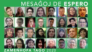 Mesaĝoj de Espero – Zamenhofa Tago 2020