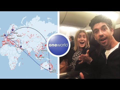 ROUND THE WORLD Business Class On Points | OneWorld Award