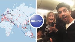 ROUND THE WORLD Business Class on points   OneWorld Award