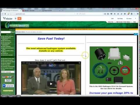 A look at Green Fuel H2o, hydrogen and hho generators.
