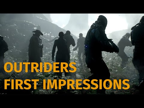 Outriders: If Anthem Was Good And Had Babies With The Division