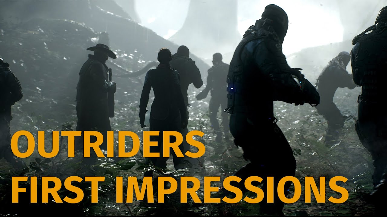 Outriders Preview - If Anthem Was Good And Had Babies With The Division (Video Game Video Review)