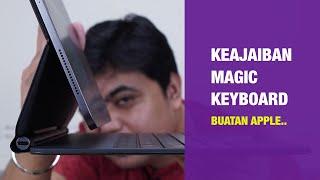 Magic Keyboard iPad Pro Indonesia: Keyboard Seharga Laptop! (Unboxing + Review)