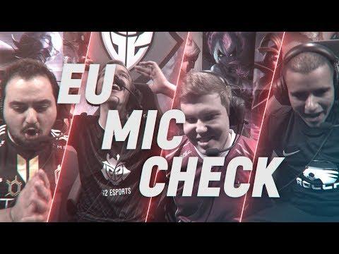 EU LCS Mic Check: Week9  Spring Split 2018