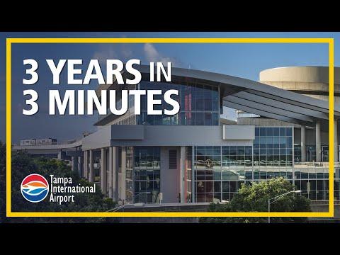 Three years in three minutes