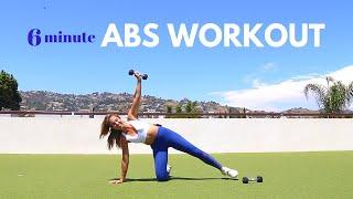 Quick Workout for your Love Handles + Obliques !