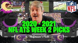 NFL Week 2 ATS Picks for the 2020-2021 Football Season