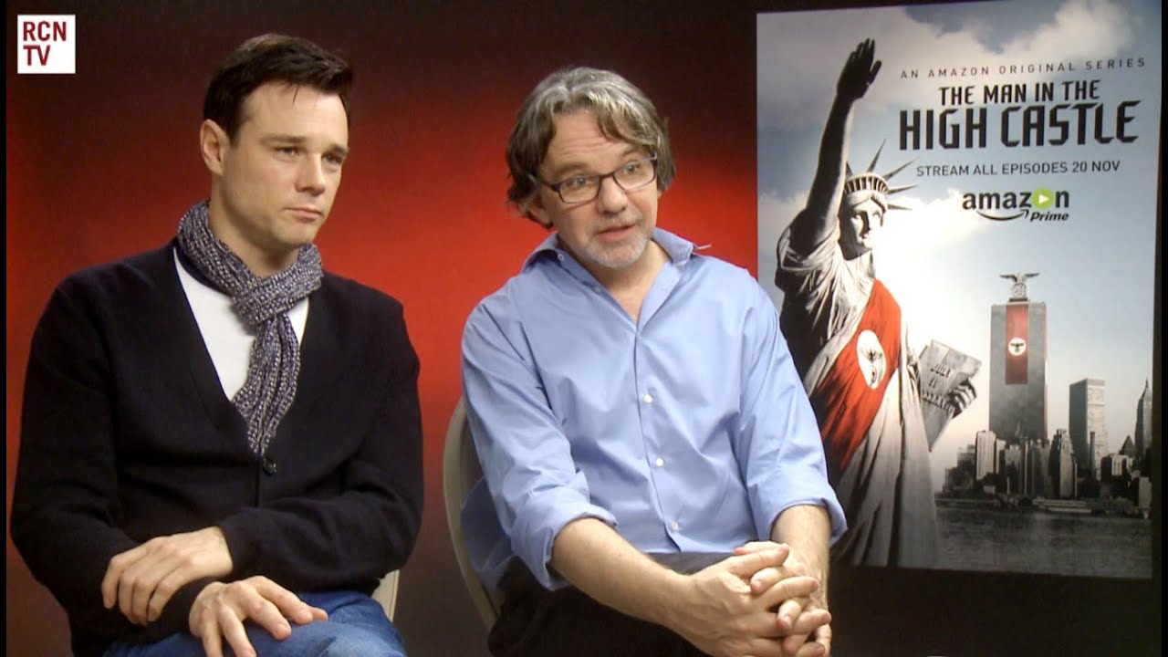 the man in the high castle rupert evans frank spotnitz interview
