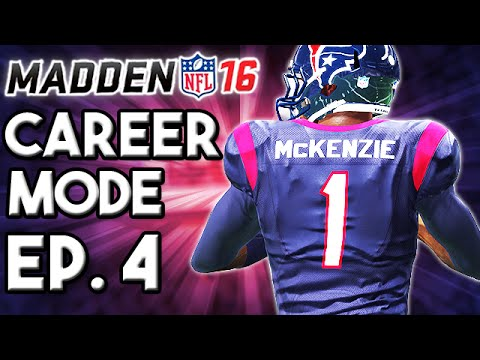 Madden 16 Career Mode Ep.4 - Can Andy Take The Pressure? - Weeks 3-4 ...