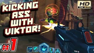Paladins Walkthrough: Episode 1 - Kicking Ass With Viktor! - PC Paladins Online Gameplay 60fps