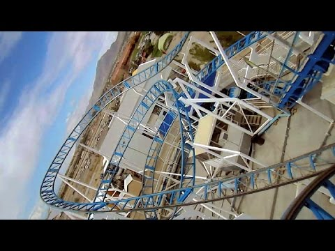 Hurricane front seat on-ride HD POV Western Playland