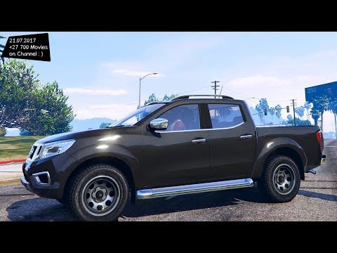 Nissan Frontier 2017 0.1 New ENB Top Speed Test GTA Mod Future