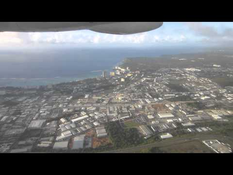 United Express departing Guam