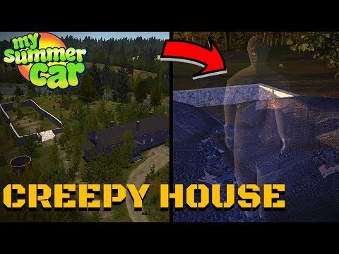 NEW CREEPY HOUSE - GHOST - BUMPY HIGHWAY - My Summer Car UPDATE #133
