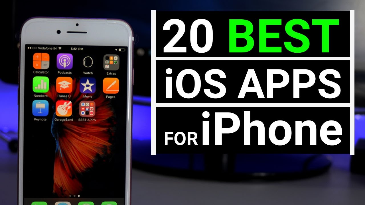 top 20 best ios apps for iphone 2017 must have youtube. Black Bedroom Furniture Sets. Home Design Ideas