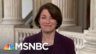 Amy Klobuchar Speaks As Her Husband Recovers From Coronavirus Scare | Andrea Mitchell | MSNBC