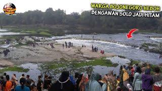 Warga Bojonegoro Ketakutan, Sungai Bengawan Solo Menghitam & Keluarkan Bau Busuk // Fenomena 2021