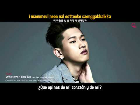 Crush - Whatever You Do (Feat Gray) | Sub Español