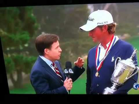 Hilarious drunk heckler at 2012 US Open gets on TV
