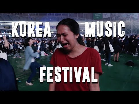 Korea Music Festival Day 1 Vlog (Wanna One, PRISTIN, KNK + more)